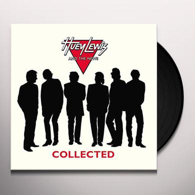 Huey Lewis & The News COLLECTED Vinyl Record