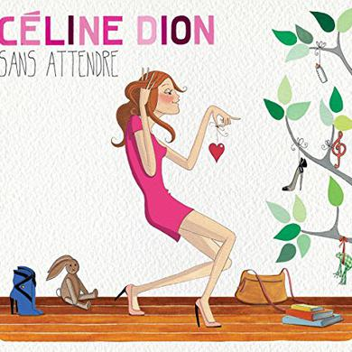 Celine Dion SANS ATTENDRE Vinyl Record
