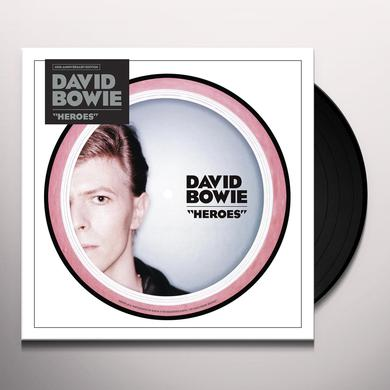 David Bowie HEROES (40TH ANNIVERSARY) Vinyl Record