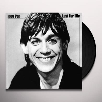 Iggy Pop LUST FOR LIFE Vinyl Record