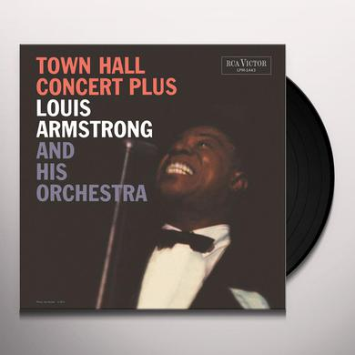 Louis Armstrong TOWN HALL CONCERT PLUS Vinyl Record