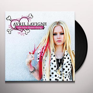 Avril Lavigne BEST DAMN THING Vinyl Record