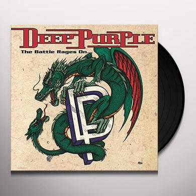 Deep Purple BATTLE RAGES ON Vinyl Record