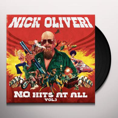 Nick Oliveri N.O. HITS AT ALL 3 Vinyl Record