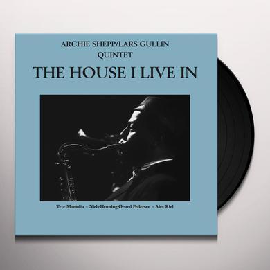 Archie Shepp / Lars Gullin HOUSE I LIVE IN Vinyl Record