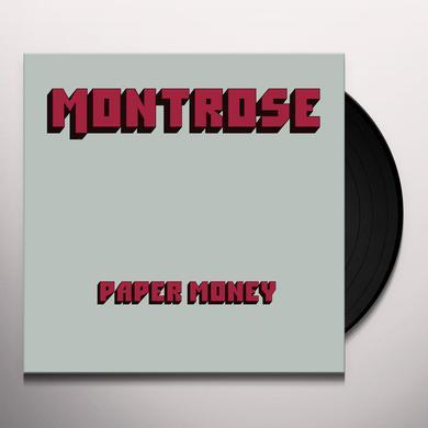 Montrose PAPER MONEY Vinyl Record