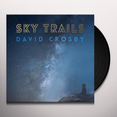 David Crosby SKY TRAILS Vinyl Record