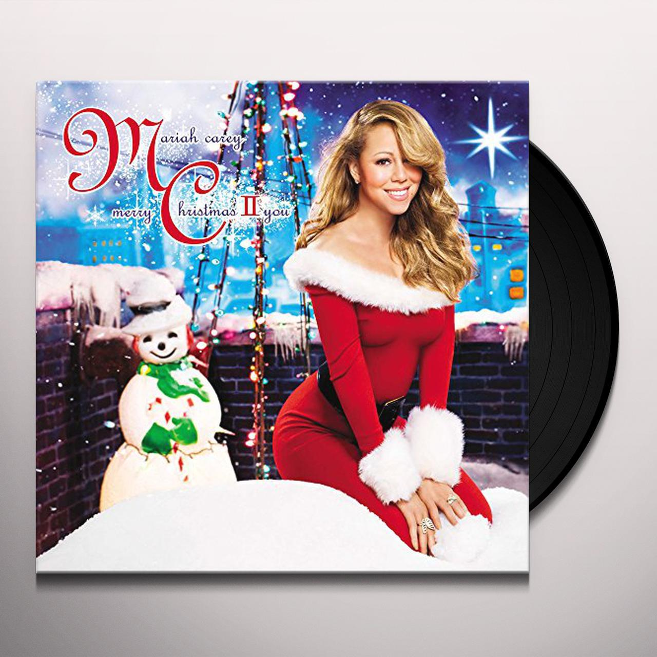 Mariah Carey MERRY CHRISTMAS II YOU Vinyl Record