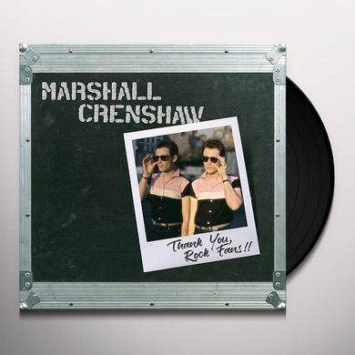 Marshall Crenshaw THANK YOU ROCK FANS Vinyl Record