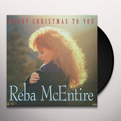 Reba Mcentire MERRY CHRISTMAS TO YOU Vinyl Record