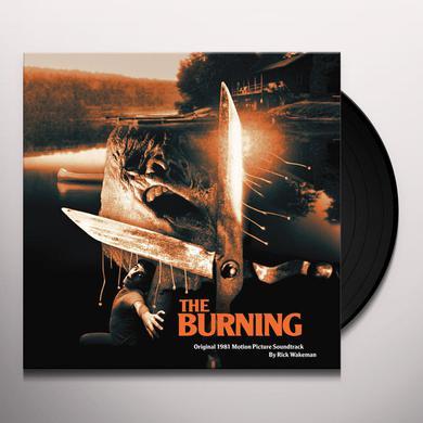 Rick Wakeman BURNING / O.S.T. Vinyl Record