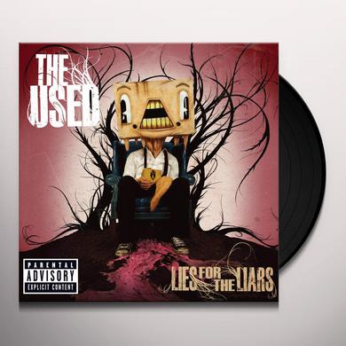 The Used LIES FOR THE LIARS Vinyl Record