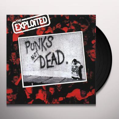 Exploited PUNK'S NOT DEAD Vinyl Record