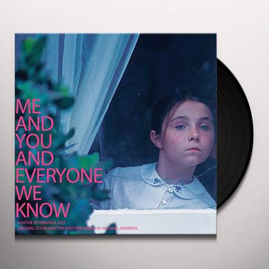 Michael Andrews ME & YOU & EVERYONE WE KNOW - O.S.T. Vinyl Record