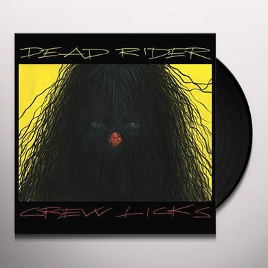 Dead Rider CREW LICKS Vinyl Record