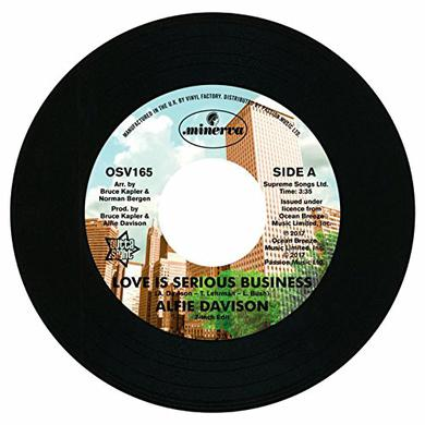 Alfie Davison LOVE IS SERIOUS BUSINESS Vinyl Record