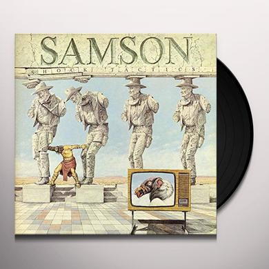 Samson SHOCK TACTICS Vinyl Record
