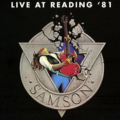 Samson LIVE AT READING 81 Vinyl Record
