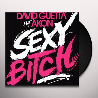 David Guetta SEXY BITCH (FEAT. AKON) Vinyl Record