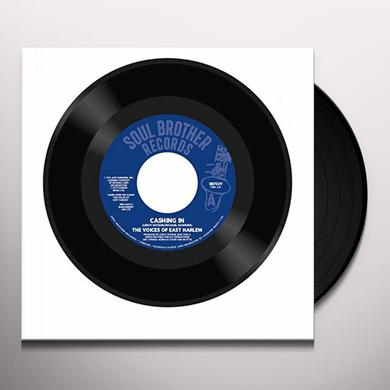 Voices Of East Harlem CASHING IN / TAKE A STAND Vinyl Record