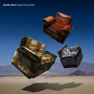 Gentle Giant THREE PIECE SUITE (STEVEN WILSON MIX/ 180G GATEFOL Vinyl Record