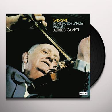 Alfredo Campoli SARASATE: EIGHT SPANISH DANCES / NAVARRA Vinyl Record