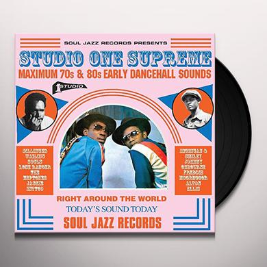 Soul Jazz Records Presents STUDIO ONE SUPREME: MAXIMUM 70S & 80S EARLY Vinyl Record