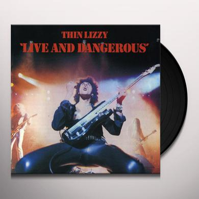 Thin Lizzy LIVE & DANGEROUS (ROCKTOBER 2017 EXCLUSIVE) Vinyl Record
