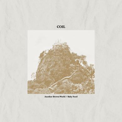 Coil ANOTHER BROWN WORLD / BABY FOOD Vinyl Record