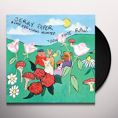 Jerry Paper TOON TIME RAW Vinyl Record