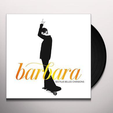 BARBARA SES PLUS BELLES CHANSONS Vinyl Record