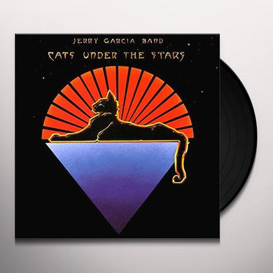 Jerry Garcia CATS UNDER THE STARS Vinyl Record