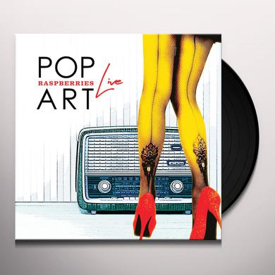 Raspberries POP ART LIVE Vinyl Record