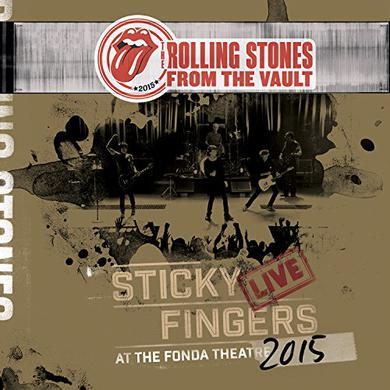 The Rolling Stones FROM THE VAULT - STICKY FINGERS: LIVE AT FONDA Vinyl Record
