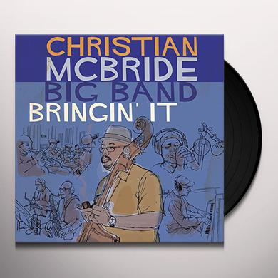 Christian Mcbride BRINGIN' IT Vinyl Record