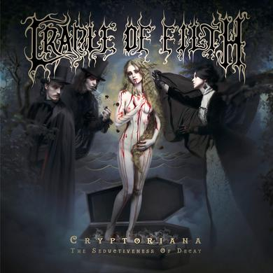 Cradle Of Filth CRYPTORIANA: THE SEDUCTIVENESS OF DECAY Vinyl Record