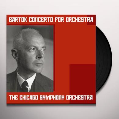Reiner CONCERTO FOR ORCHESTRA Vinyl Record