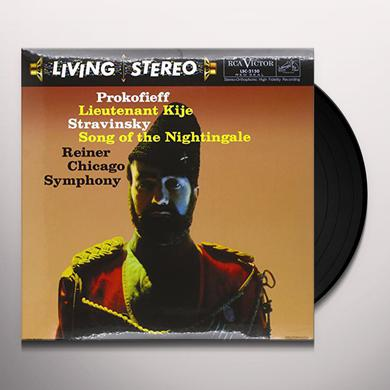 Reiner LIEUTENANT KIJE / SONG OF THE NIGHTINGALE Vinyl Record