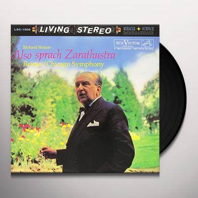 Reiner ALSO SPRACH ZARATHUSTRA Vinyl Record