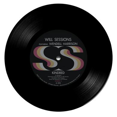 Will Sessions KINDRED / POLYESTER PEOPLE Vinyl Record