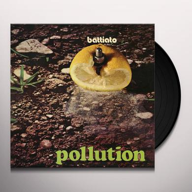 Franco Battiato POLLUTION Vinyl Record