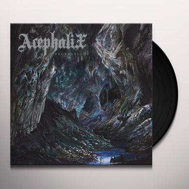 Acephalix DECREATION Vinyl Record