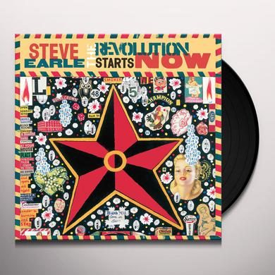 Steve Earle REVOLUTION STARTS NOW Vinyl Record