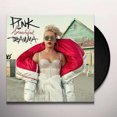 Pink BEAUTIFUL TRAUMA Vinyl Record