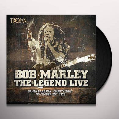 Bob Marley & the Wailers LEGEND LIVE IN SANTA BARBARA Vinyl Record