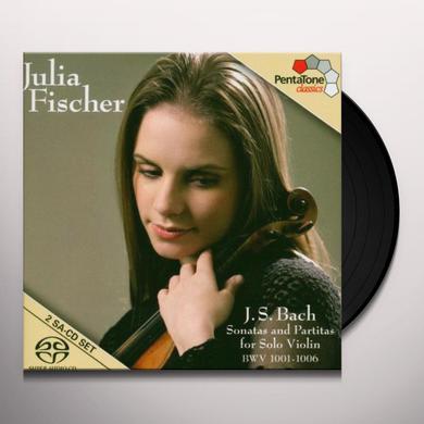 Bach / Julian Fischer J.S. BACH: SONATAS & PARTITAS FOR SOLO VIOLIN Vinyl Record