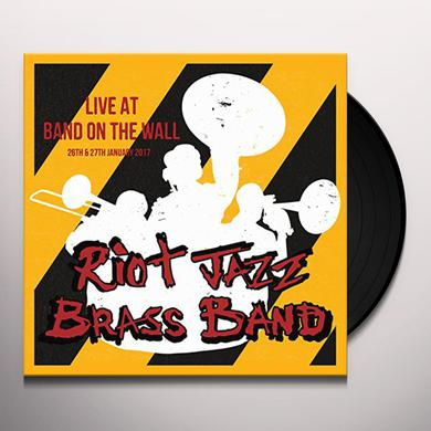Riot Jazz Brass Band LIVE AT BAND ON THE WALL Vinyl Record