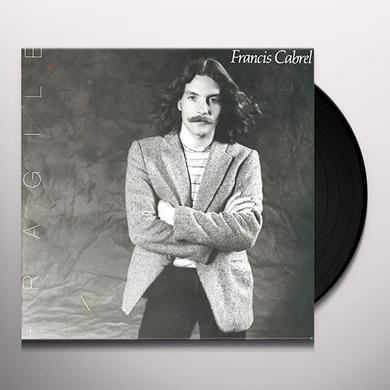 Francis Cabrel FRAGILE Vinyl Record