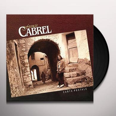 Francis Cabrel CARTE POSTALE Vinyl Record
