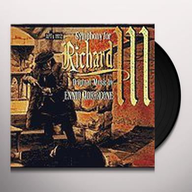 Ennio Morricone SYMPHONY FOR RICHARD III / O.S.T. Vinyl Record